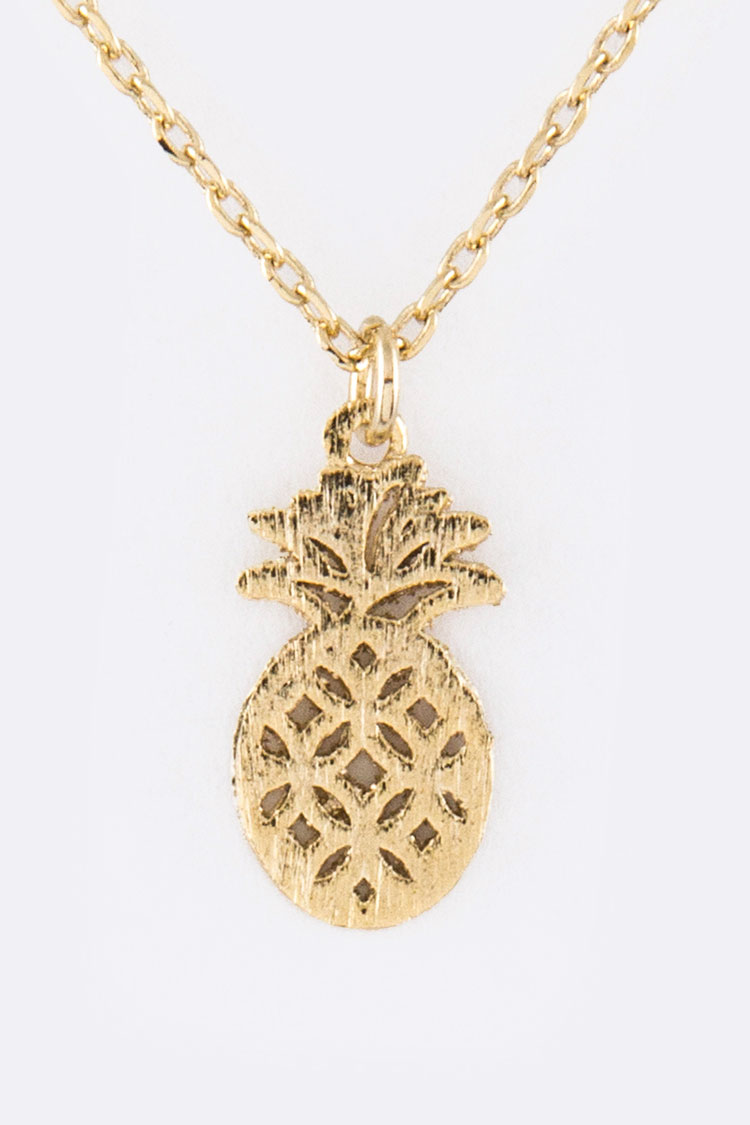 Petite Pineapple Pendant Necklace