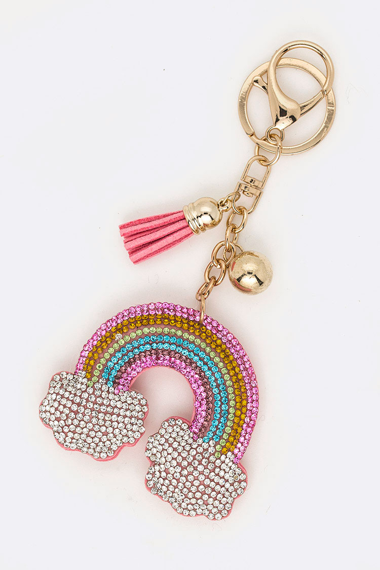 Crystal Rainbow Iconic Key Chain