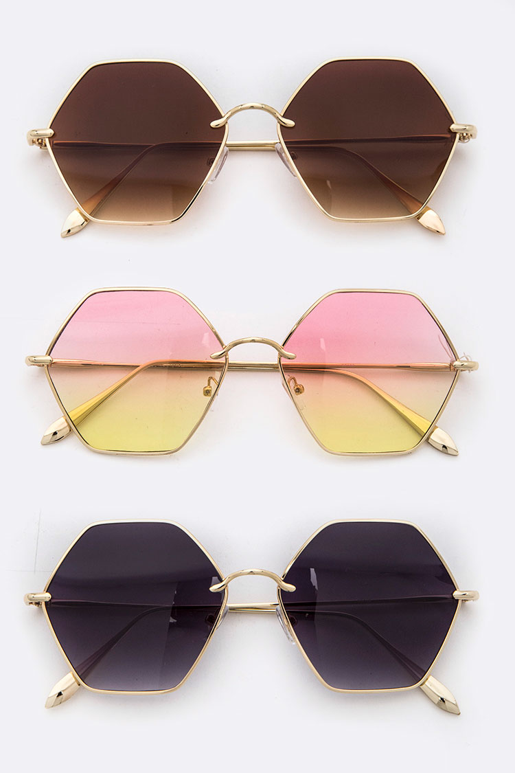 Hexagon Iconic Sunglasses