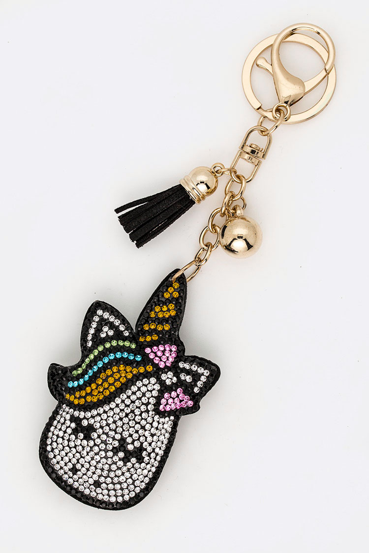 Crystal Unicorn Iconic Key Chain