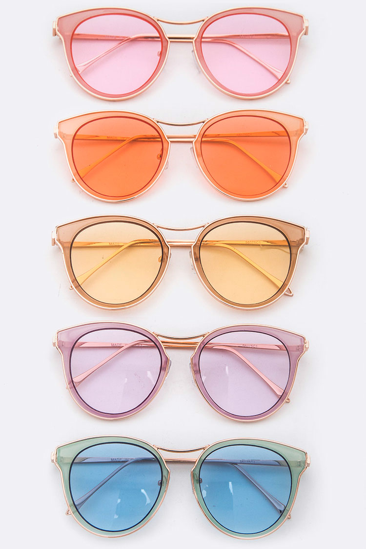Pastel Color Iconic Sunglasses