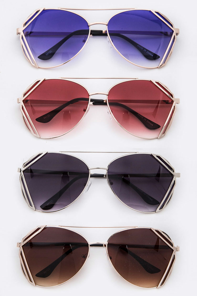 Framed Iconic Statement Sunglasses