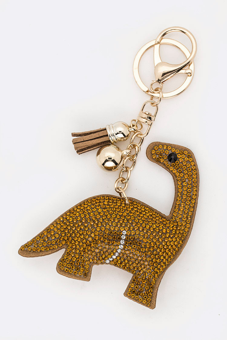 Crystal Dinosaur Iconic Key Chain