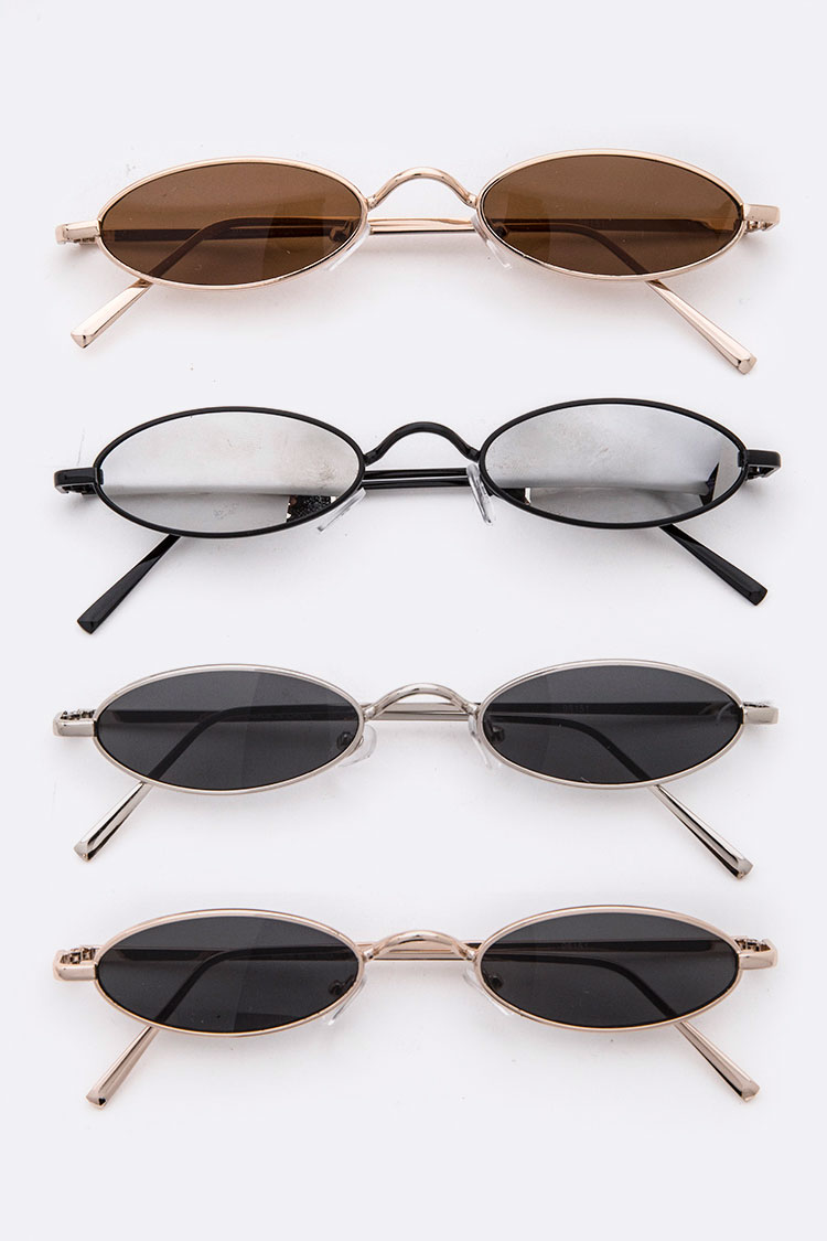 Skinny Oval Iconic Sunglasses
