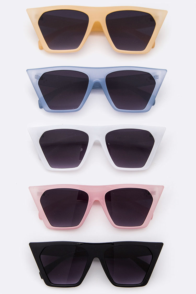 Iconic Pointy Square Sunglasses