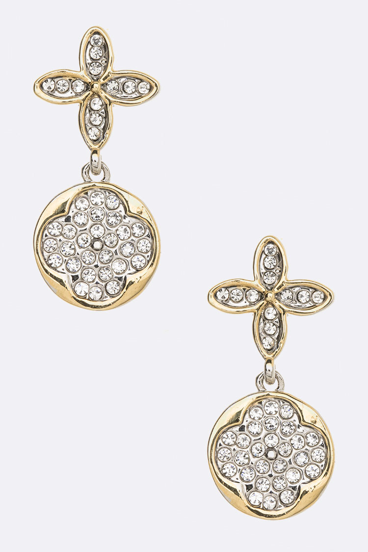 Crystal Clover Iconic Earrings