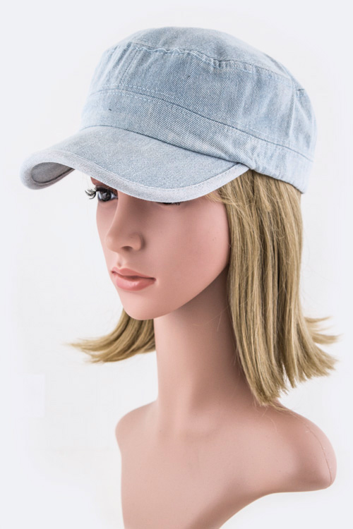 Denim Cadet Cap
