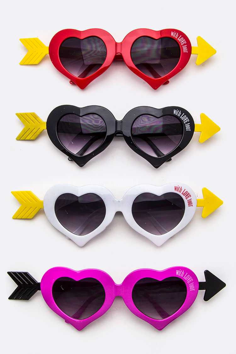 Iconic Arrowed Heart Sunglasses