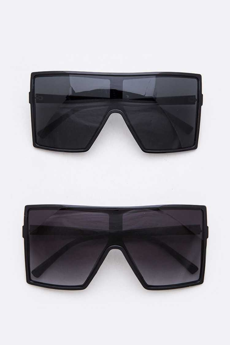 Oversize Square Iconic Sunglasses Set