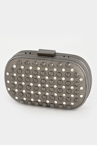 Crystal Studs Mini Clutch