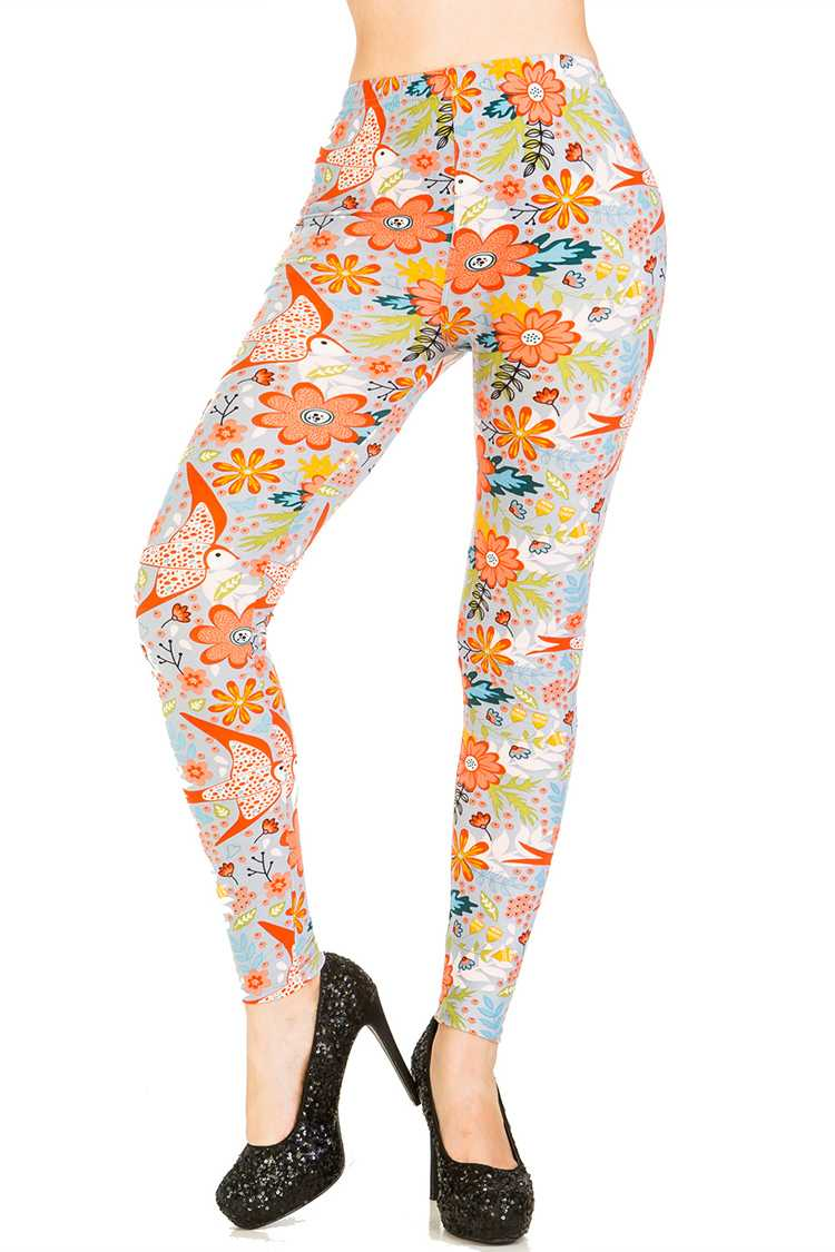 Spring Forest Printed Leggings