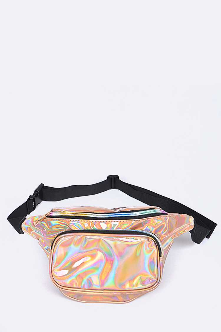 Holographic Color Fanny Packs