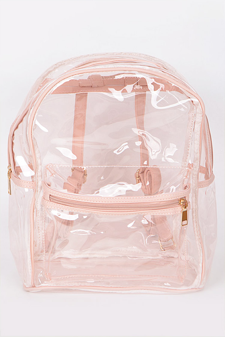 Stadium Approval Clear Backpack