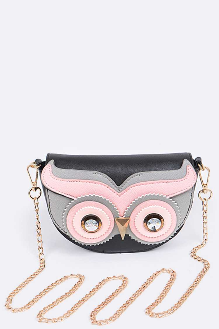 Iconic Owl Crossbody Bag