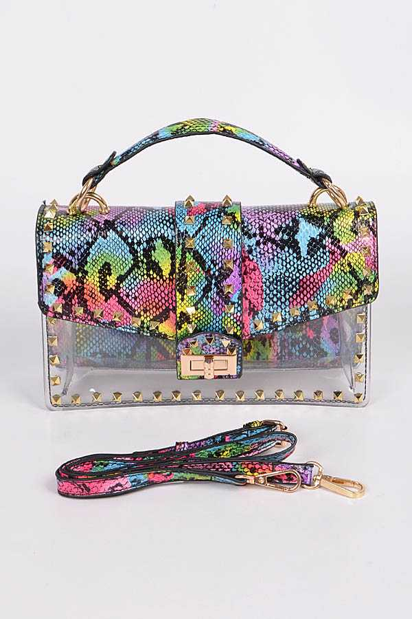 Python Print 2 In 1 Clear Bag Set