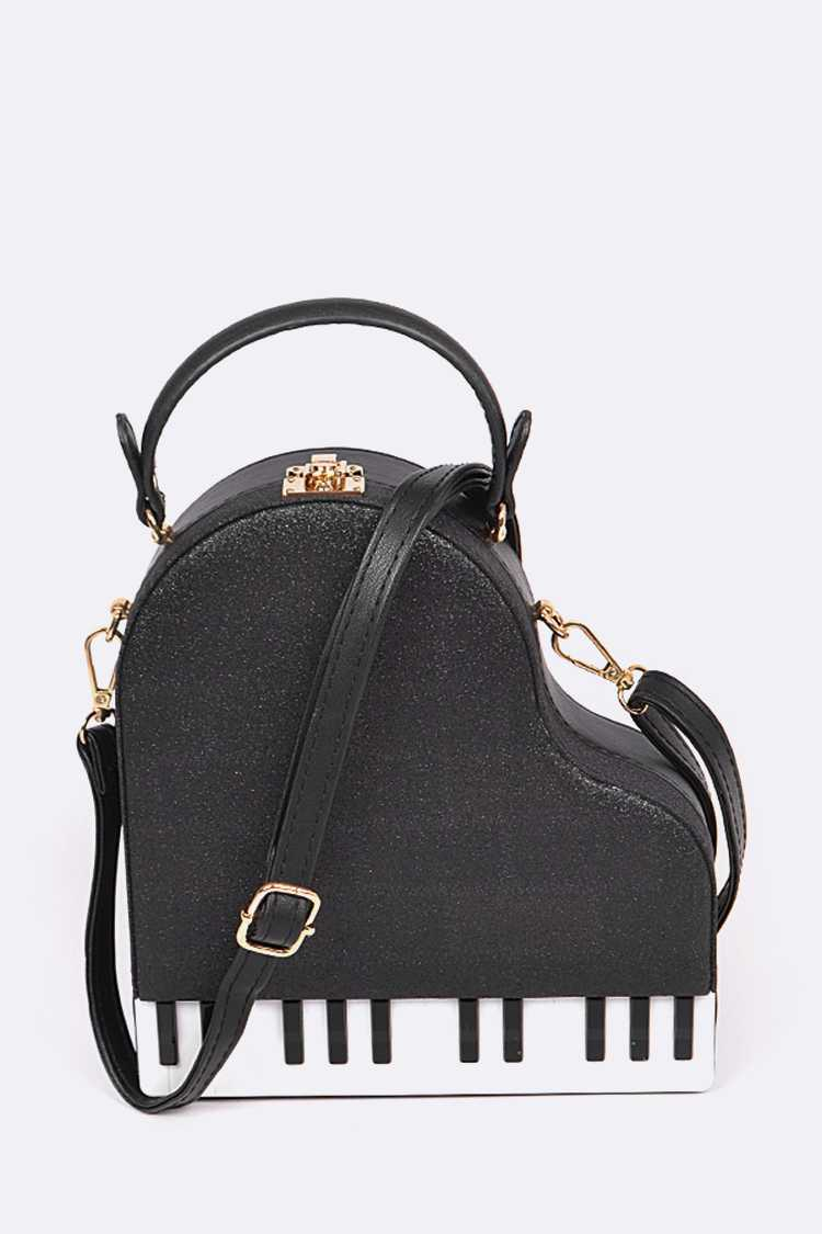 Grand Piano Iconic Clutch Swing Bag