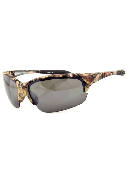 Camouflage Printed Sporty Sunglasses