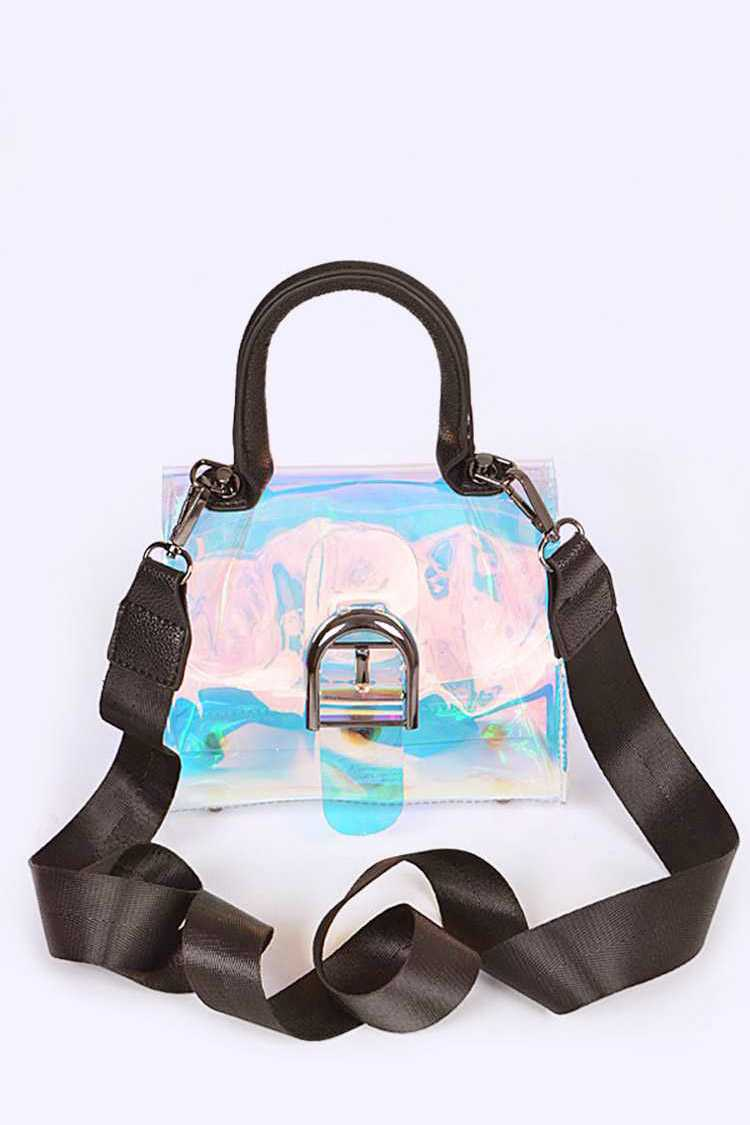 Clear Structured Fashion Bag
