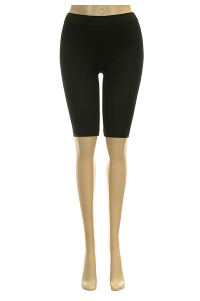 SEAMLESS STRETCH BOY SHORTS 17INCHES LEGGINGS TIGHTS