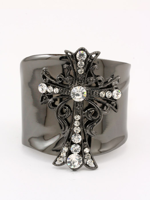 Celtic Cross Iconic Bangle