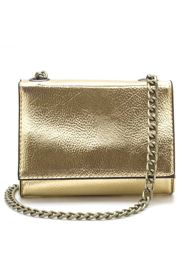 Metallic Crossbody Bag