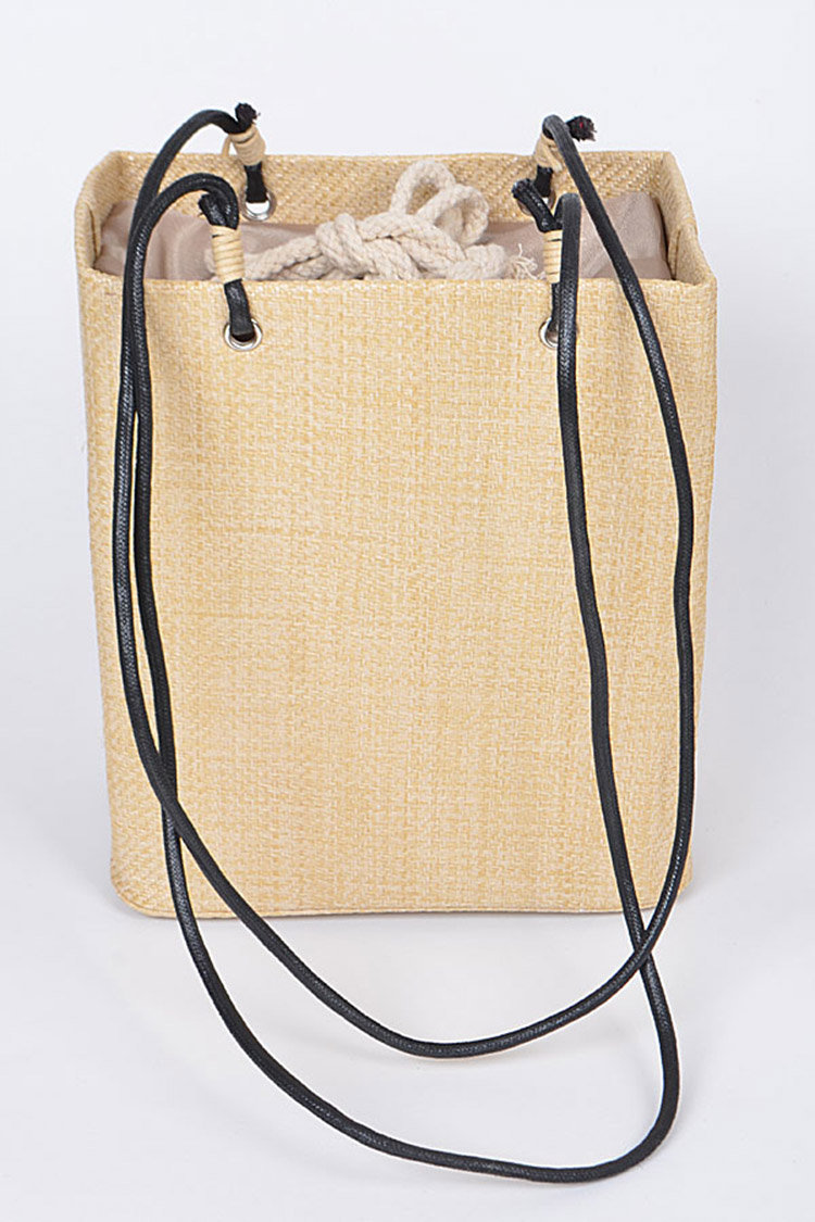 Raffia Iconic Shopping Tote
