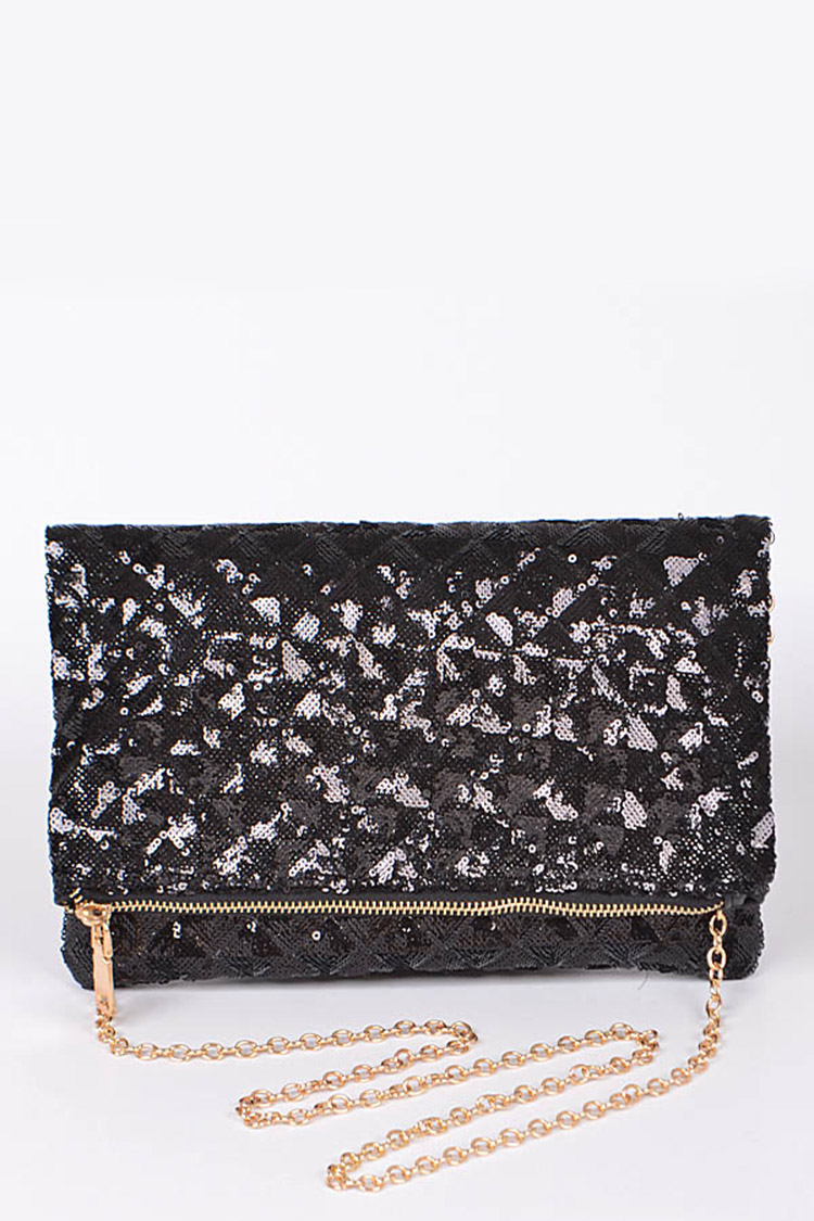 Sparkly Sequins Party Clutch