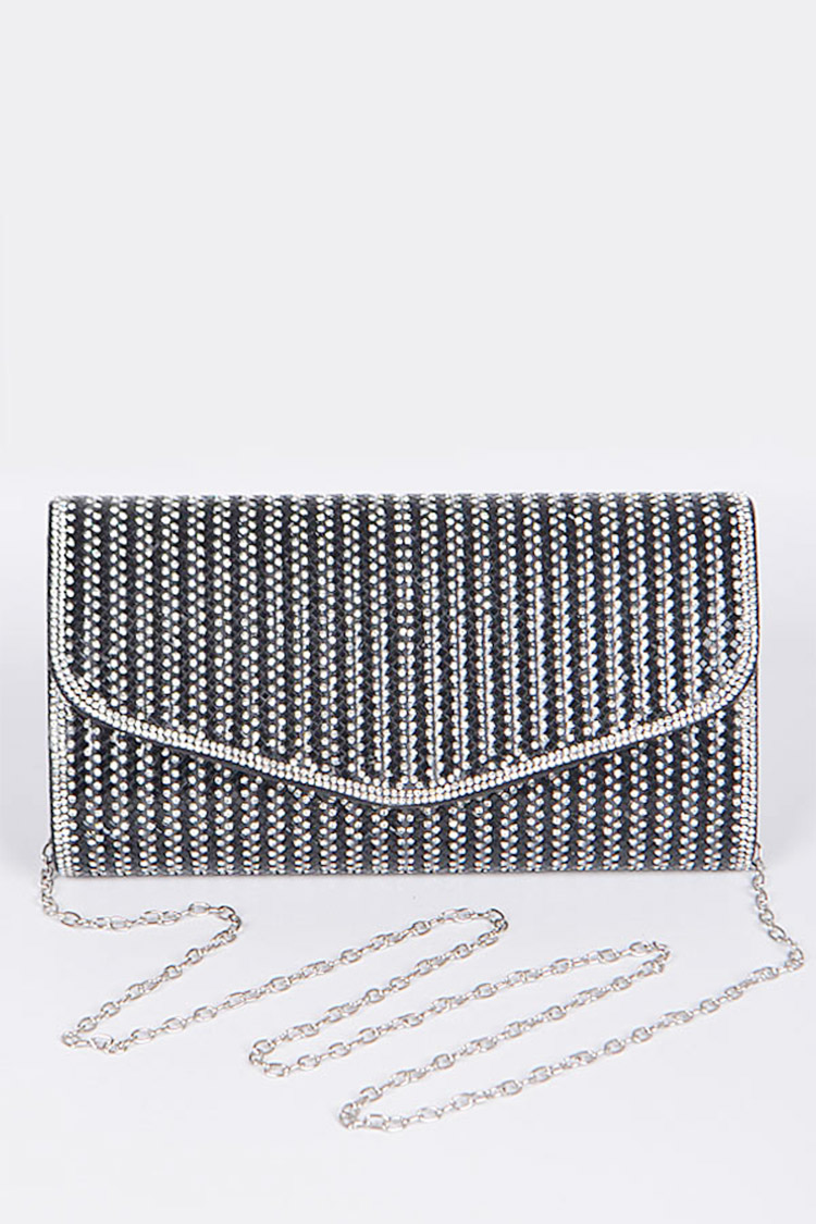 Rhinestone Convertible Party Clutch