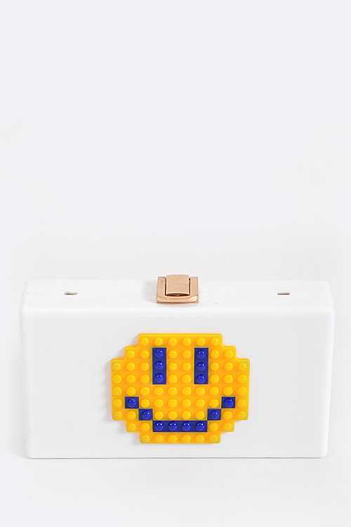 Emoji Box Clutch