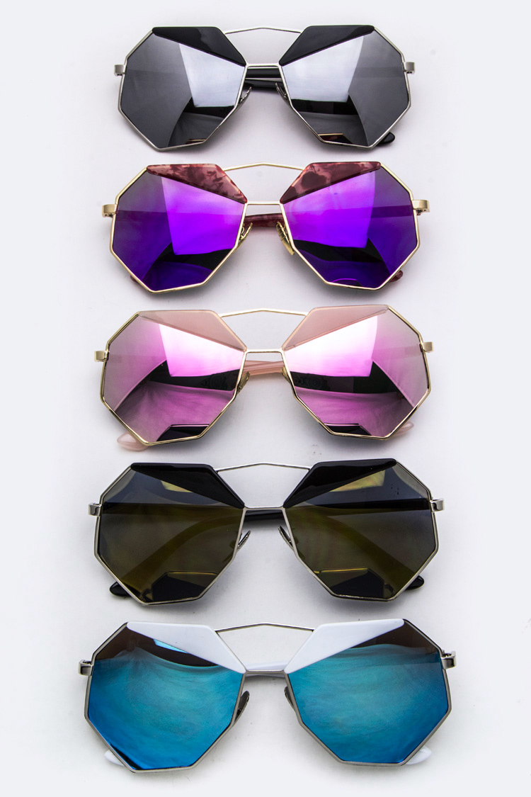 Iconic Fashion Angular Sunglasses