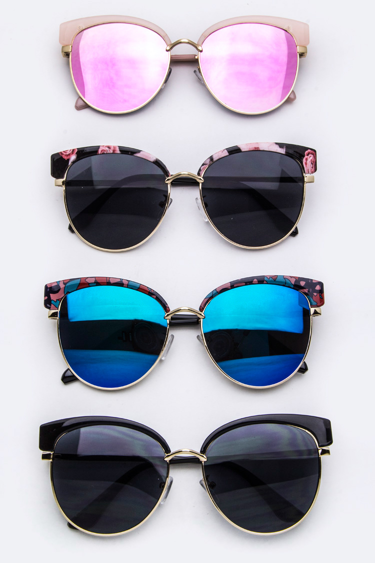 Fashion Browline Sunglasses