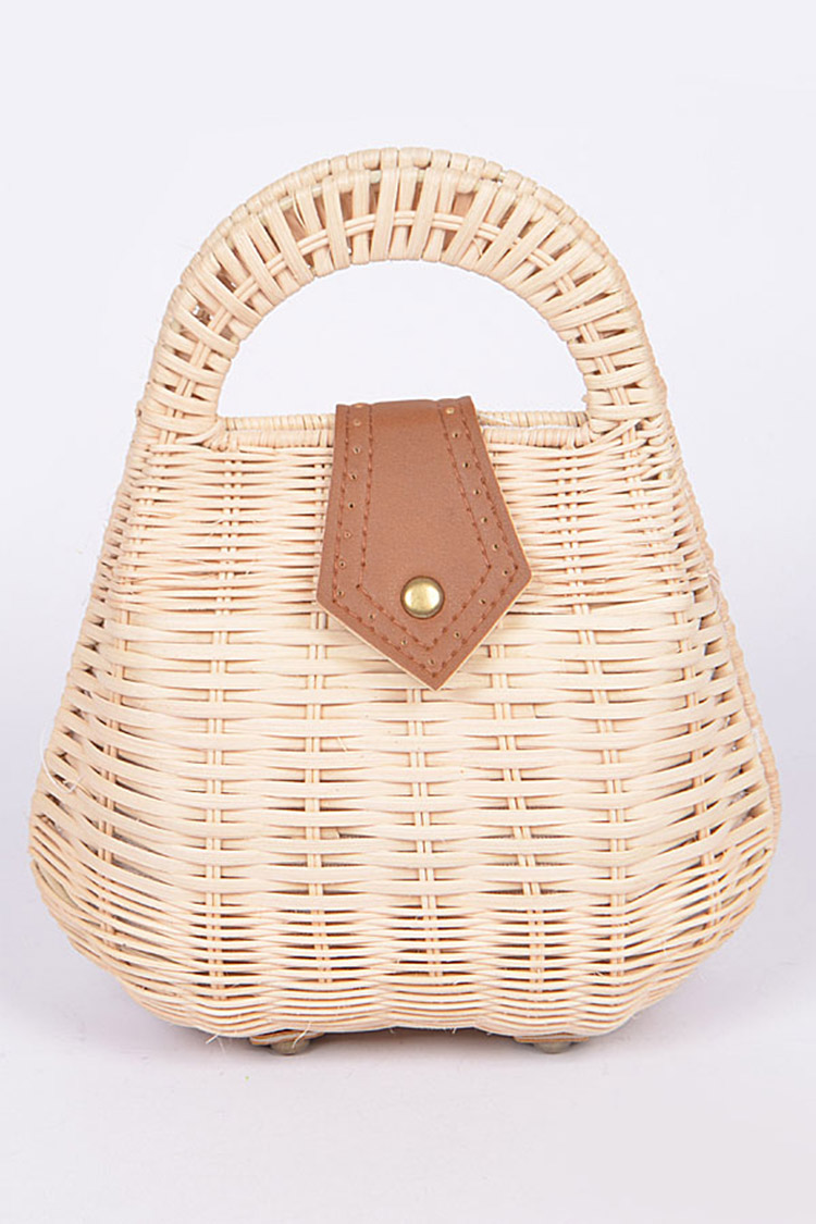 Bamboo Iconic Structure Top Handle Bag