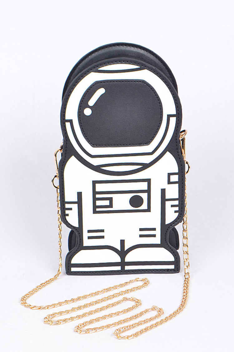 Iconic Astronaut Crossbody Swing Bag