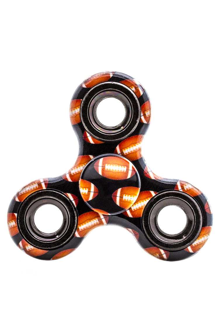 Football Printed Hand Spinner