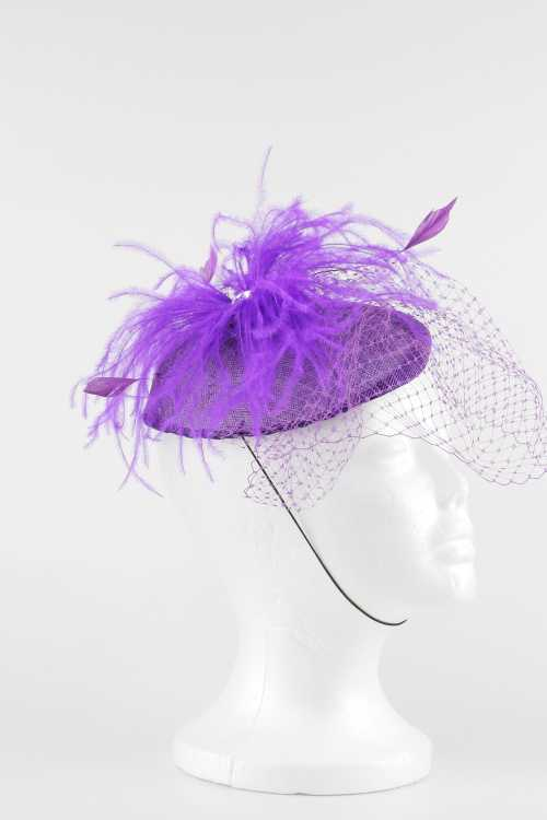 Feather&Lace Fascinator