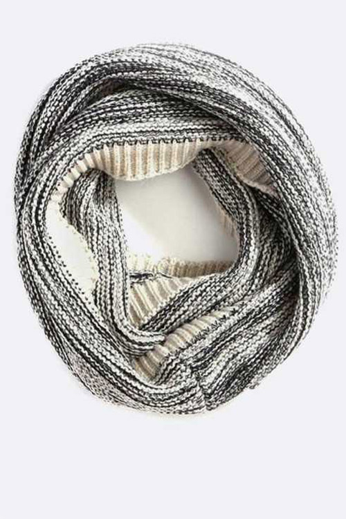 Space Knit Eternity Fashion Scarf