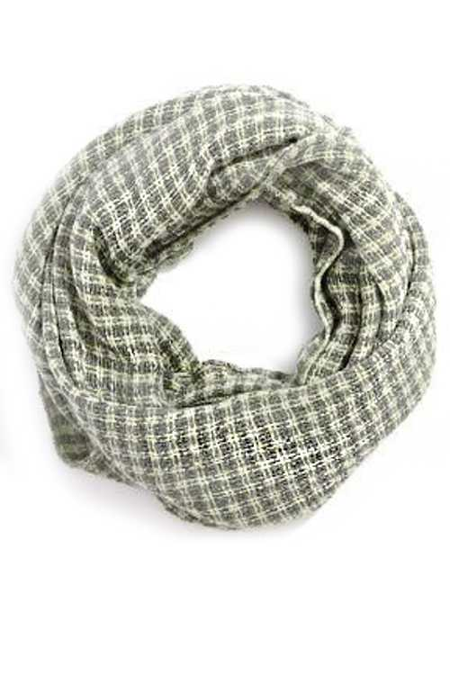 Checker Infinity Scarf