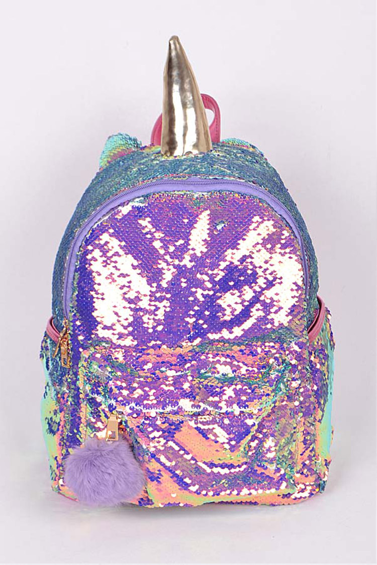 Iconic Sequins Unicorn Backpack