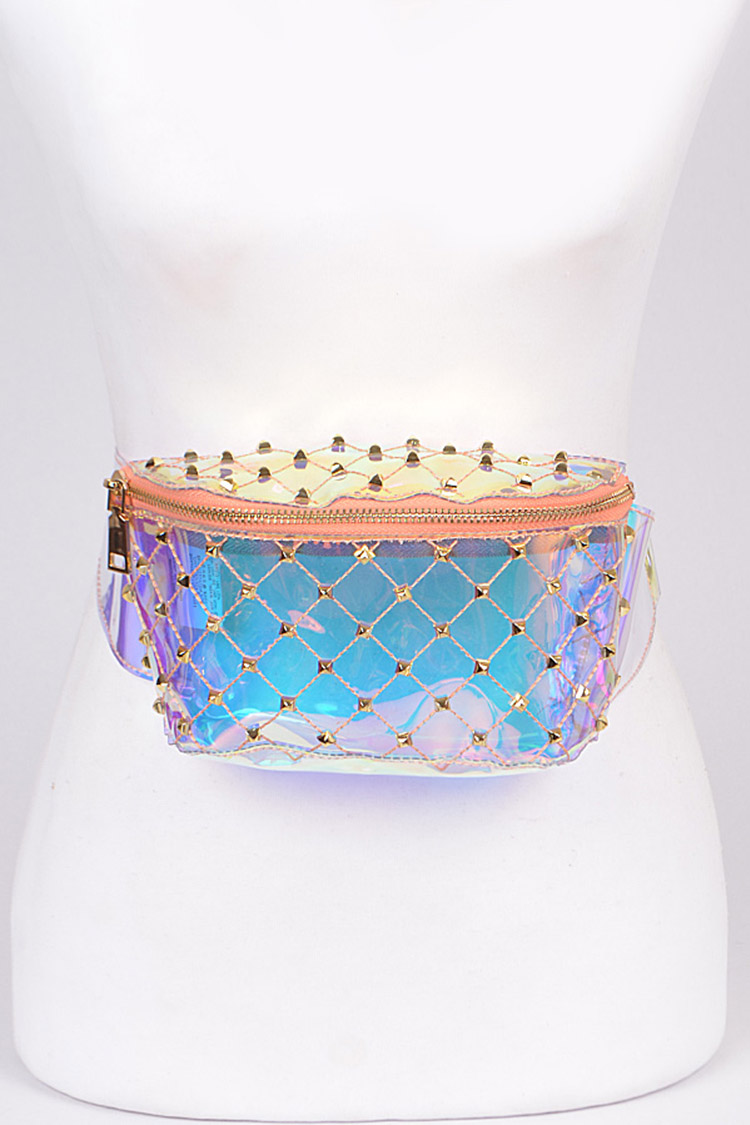 Studs Quilted Cleared Iconic Fanny Pack