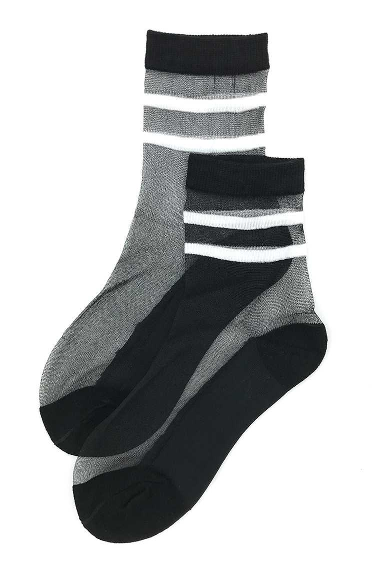 Black See Thru Socks
