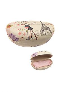 Paris Lady Iconic Glasses Case