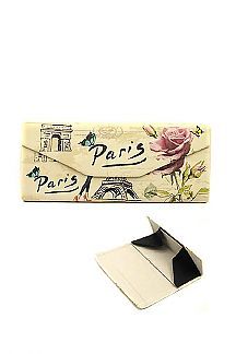 Paris Theme Convertible Glasses Case