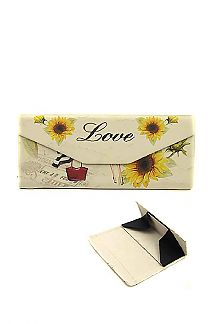 LOVE Printed Convertible Magnetic Glasses Case