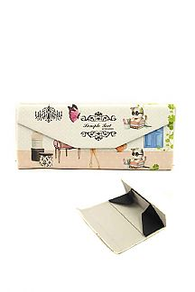 Butterfly & Cat Convertible Glasses Case