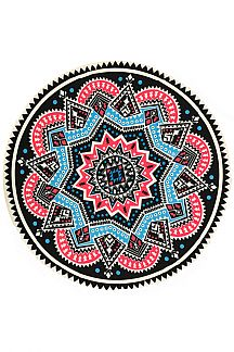 Tribal Print Convertible Light Weight Picnic Throw