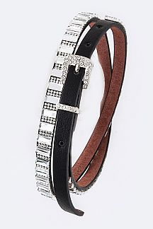 Crystal Statement Fashion Belt