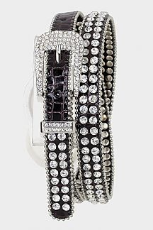 Crystal Studded Belt