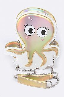 Octopus Crossbody Bag