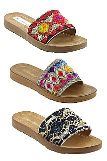 Sequins Beaded Fashion Sandal
