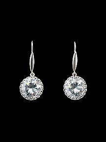 Dangling 4ct Earrings